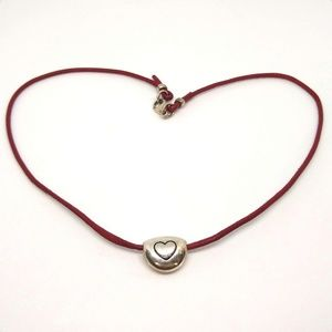James Avery pebble slider necklace